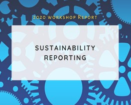 Workshop Report Sustainability Reporting
